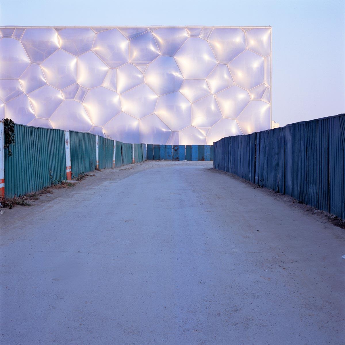 Camino Olímpico, 2007 Fotografía duratrans en cajas de luz de madera y luz Caja de luz 45x45x30 aprox. Ed. 3